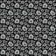 Vector floral background - Vektorgrafik