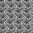 Stock Vector: Seamless swirly pattern