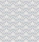 Silver classic wallpaper — Stock Vector