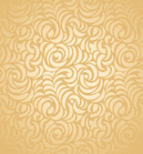 Seamless golden wedding card background — Stock Vector