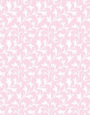 Seamless pink Curtain - Background — Stock Vector