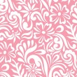 Seamless floral background for fabrics - Stock Vector