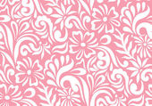 Seamless floral background for fabrics — Stock Vector