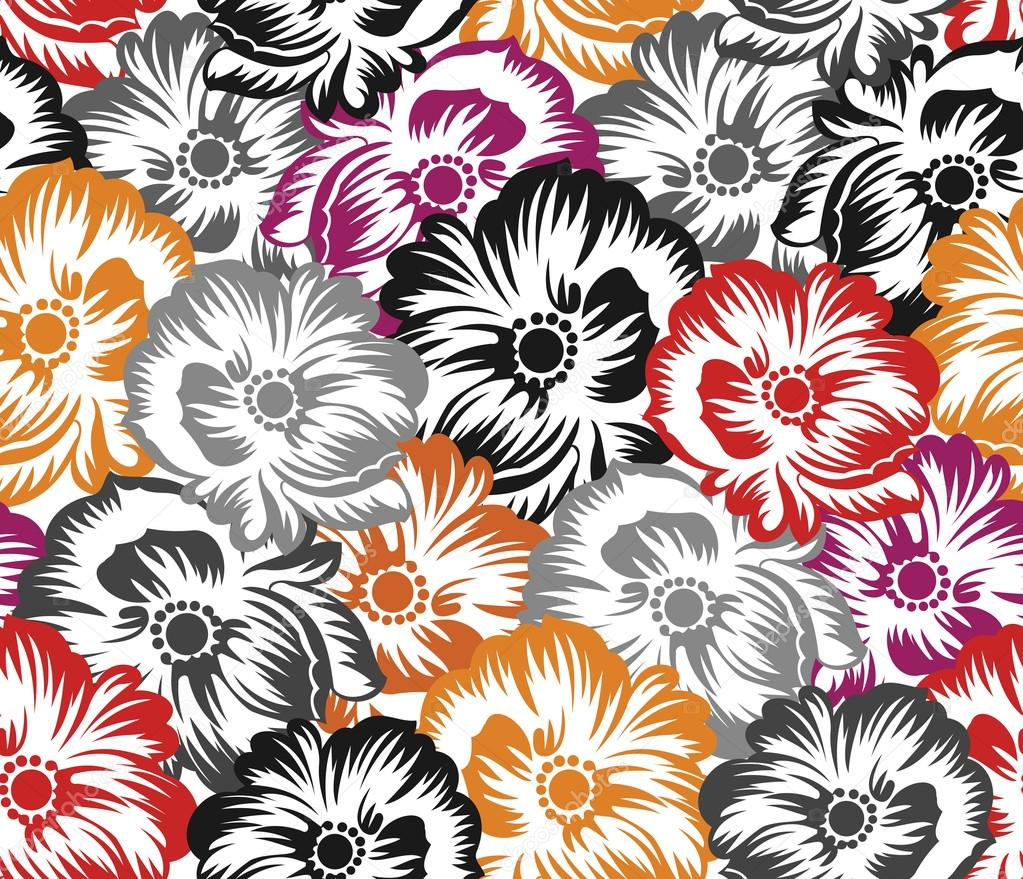 Bed sheet texture -  Bed Sheet Texture Download Seamless Floral Pattern Background Stock Illustration