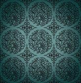 Seamless paisley vector wallpaper — Stock Vector
