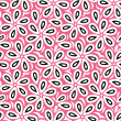 Floral seamless vector wallpaper - Grafika wektorowa