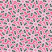 Floral seamless vector wallpaper — Stock Vector