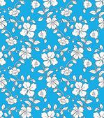 Seamless flourish vector wallpaper — Stock Vector