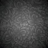 Royal floral wallpaper — Stock Vector