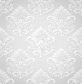 ロイヤル ダマスク織壁紙 — ストックベクタ