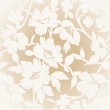 Seamless golden floral background — Stock Vector #27568885