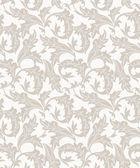Seamless designer leaves wallpaper — Stock Vector