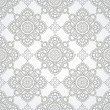 Luxurious silver seamless wallpaper — Vektorgrafik