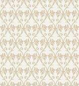 Seamless fancy flower wallpaper — Stock Vector
