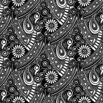 Seamless vector paisley wallpaper — Stock Vector #36577993