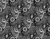 Seamless vector paisley wallpaper — Stock Vector