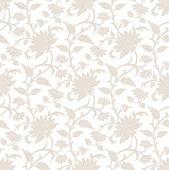 Royal seamless flower wallpaper — Stock Vector