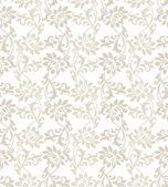 Fancy floral seamless vector wallpaper — Stock Vector