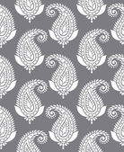 Seamless paisley for textile design — Stock Vector