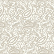 Seamless paisley background — Stock Vector