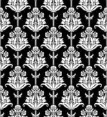 Nahtlose damaris floral tapete — Stockvektor