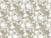 Seamless vector floral wallpaper — Stock Vector