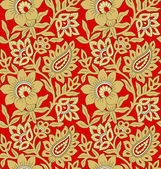 Seamless background for fabrics — Stock Photo