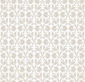 Designer seamless floral wallpaper — Stock Vector