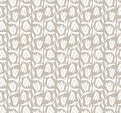 Fancy floral seamless wallpaper — Stock Vector
