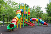 A colorful children playground — Stock Photo