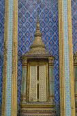 Palace Door Wat Phra Kaew — Stock Photo