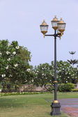 Lamps in Public Park — Stock Photo