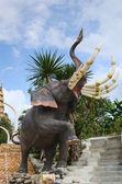 Thai Fairy Tale Elephant Statue — Stock Photo