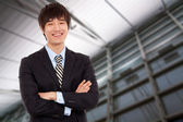 Young Asian business man — Stock Photo