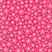 Snowflakes pattern — Vector de stock