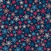 Snowflakes pattern — Stockvektor