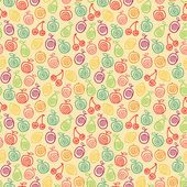 Fruity pattern — Stock Vector