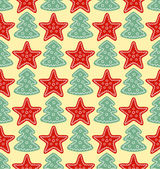 Jul mönster — Stockvektor