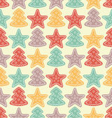 Christmas pattern — Vecteur