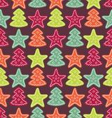 Vánoční vzor — Stock vektor