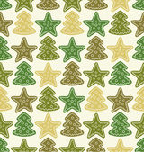 Kerst patroon — Stockvector