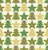 Christmas pattern — Stock Vector