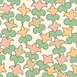 Seamless stylized floral pattern — Stock Vector #26037389