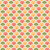 Citric pattern — Stock Vector