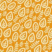 Leaf pattern — Stock Vector