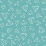 Постер, плакат: Gems pattern