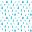Rain pattern — Stock Vector