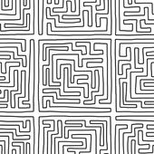Modèle de labyrinthe — Vecteur