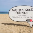Water is good for you — Stock Photo
