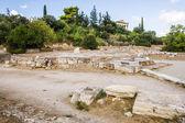 Temple of Hephaestus in Agora — Foto Stock